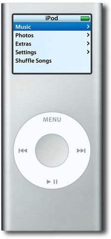 MP3 Плеер APPLE iPod nano 2GigaB silver